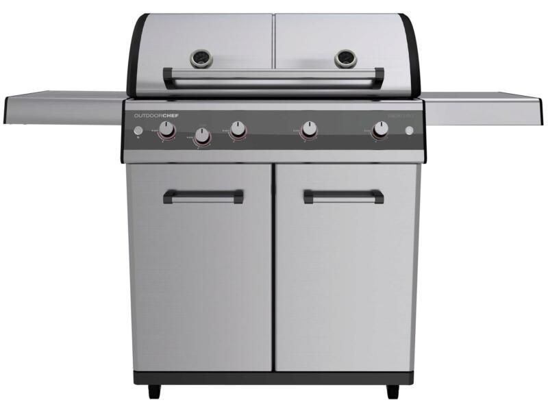 Dualchef 425G barbecue au gaz argent