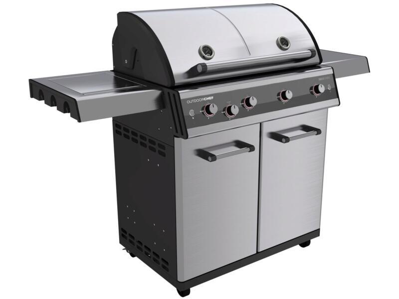 Dualchef 425G gasbarbecue zilver