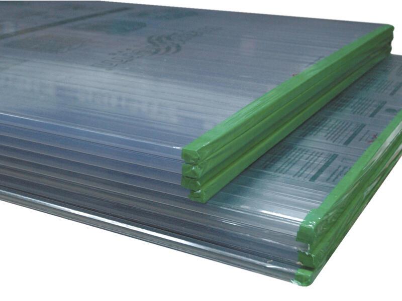 Scala Dubbelwandige plaat 250x98 cm 16mm transparant