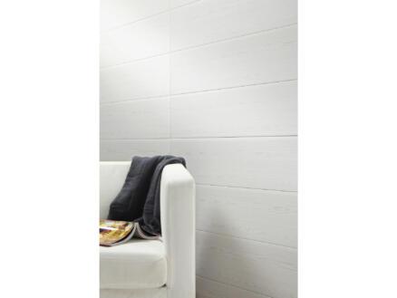 Dumaplast Dumaclip V-groef wand- en plafondpaneel 120x25 cm 2,4m² witte den 8 stuks