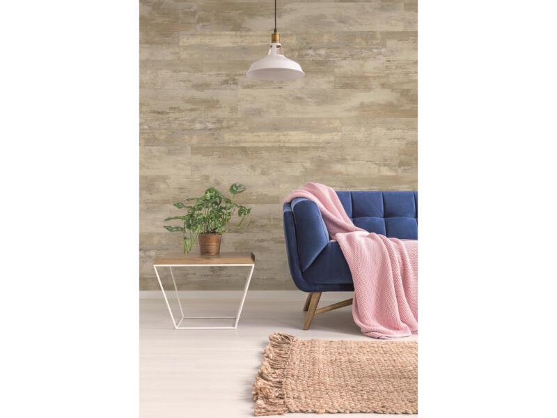 Dumawood panneau mur et plafond 120x16,7 cm 2m² cottage beige 10 pièces