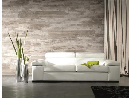 Dumaplast Dumawood wand- en plafondpaneel 120x16,7 cm 2m² cottage grijs 10 stuks