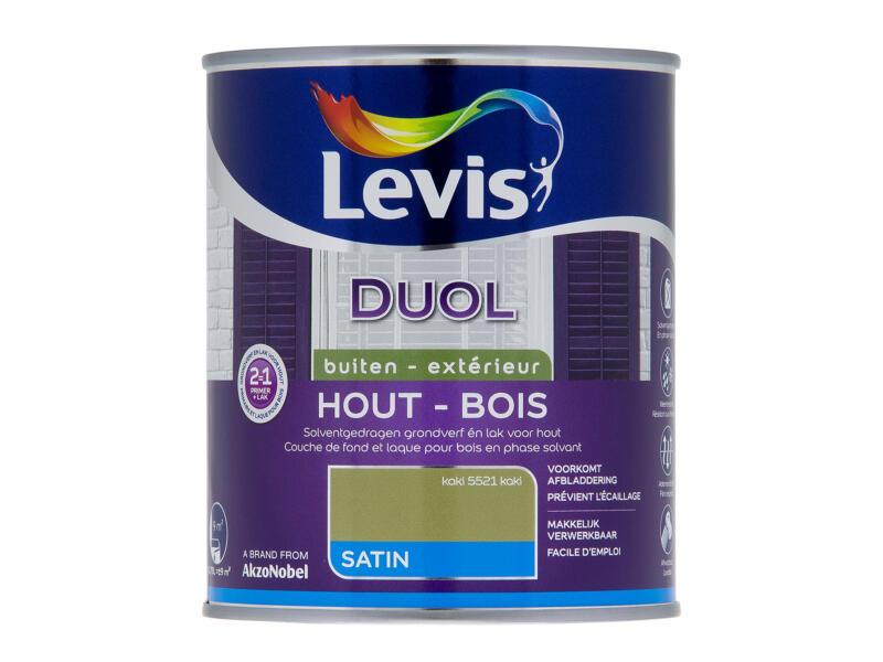 Levis Duol buiten zijdeglans 0,75l kaki