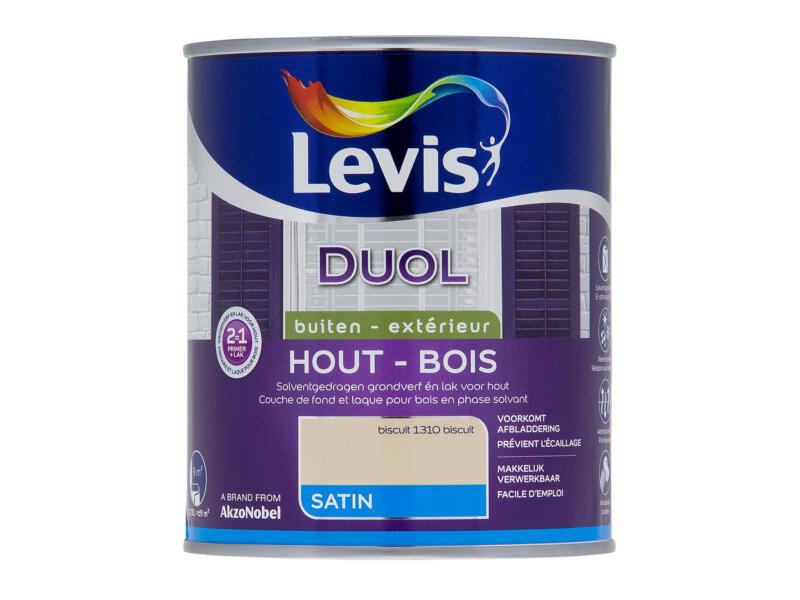 Levis Duol extérieur satin 0,75l biscuit
