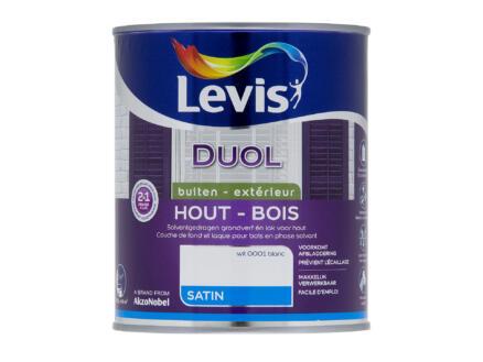 Levis Duol houtlak zijdeglans 0,75l wit