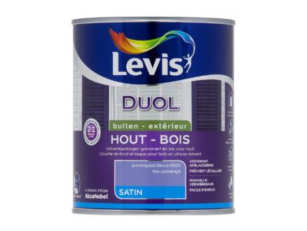Levis Duol laque bois satin 0,75l bleu provençale