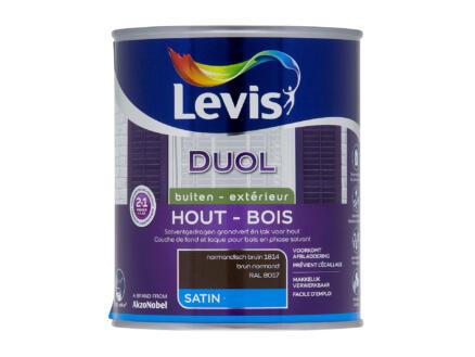 Levis Duol laque bois satin 0,75l brun normand