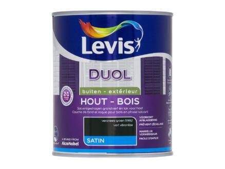 Levis Duol laque bois satin 0,75l vert veronese