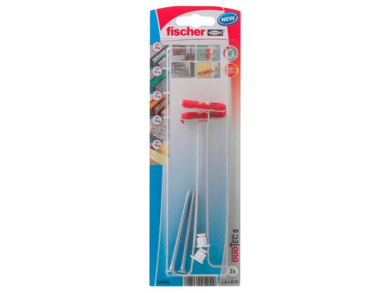 Fischer Duotec cheville à bascule 10x70 mm 2 pièces