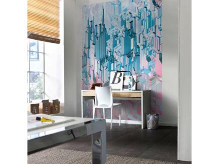Duplex papier peint photo 4 bandes