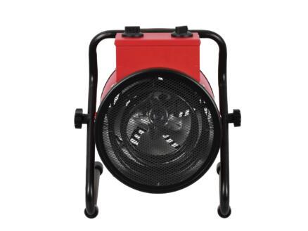 Eurom EK 3000 Round radiateur soufflant 3000W rouge