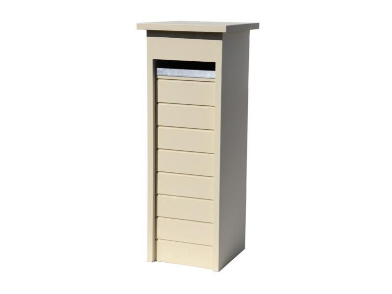 De Witte EX220 boîte aux lettres pierre bleue beige