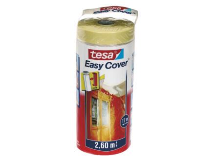 Tesa Easy Cover plastique de protection recharge 17x2,6 m transparent