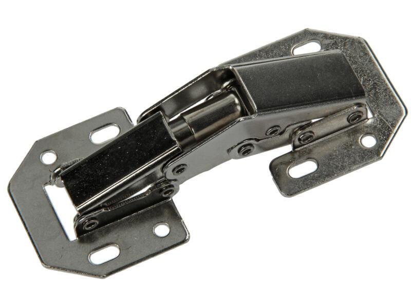 Mack Easy Line charnière en applique à ressort 10,5cm 2 pièces