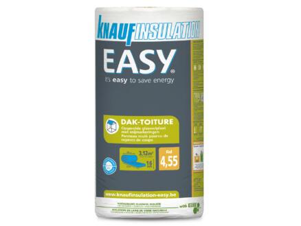 Knauf Insulation Easy dakisolatie glaswol 390x80x16 cm R4,55 3,12m²