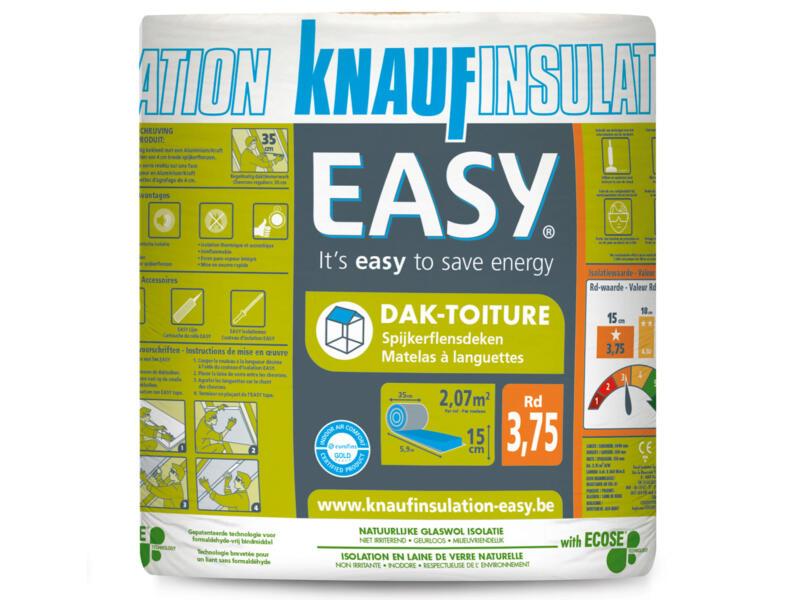 Knauf Insulation Easy dakisolatie glaswol 590x35x15 cm R3,75 2,065m²