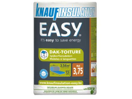 Knauf Insulation Easy dakisolatie glaswol 590x60x15 cm R3,75 3,54m²