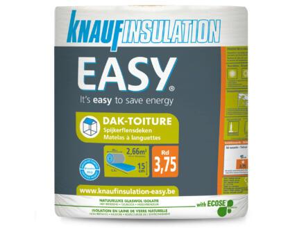 Knauf Insulation Easy isolation toiture laine de verre 590x45x15 cm R3,75 2,655m²