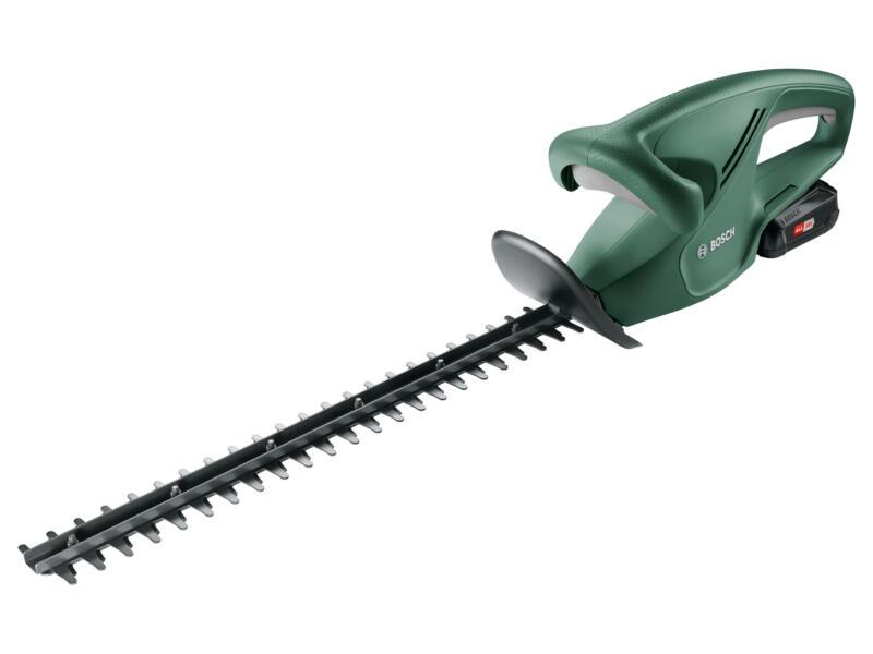 Bosch EasyHedgeCut 18-45 taille-haies sans fil 45cm + EasyGrassCut 18 coupe-bordures 18V Li-Ion + chargeur