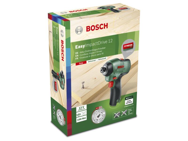 Bosch EasyImpactDrive 12 accu slagschroevendraaier zonder accu