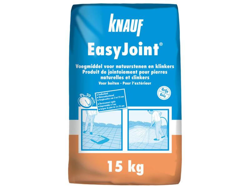 Knauf EasyJoint mortier de jointoiement 15kg gris