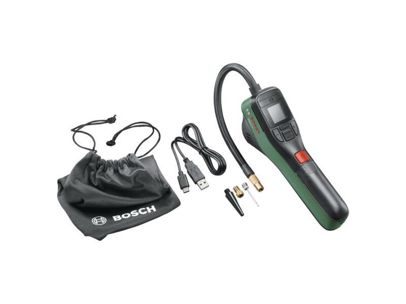 Bosch EasyPump accupomp 3,6V Li-Ion + 2 accessoires + lader