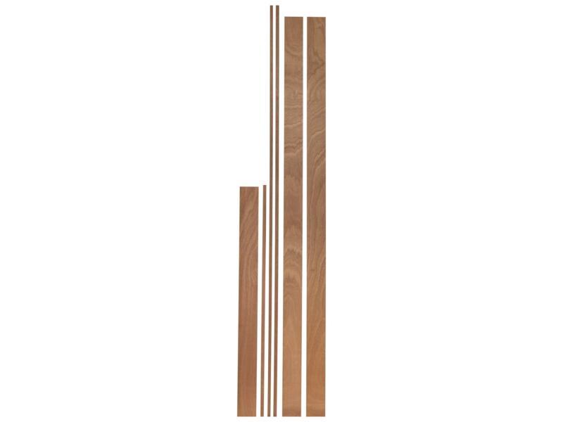 Ébrasement 18x95 mm 213cm bois dur