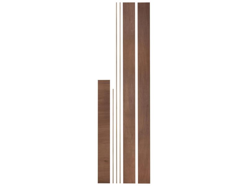 Ébrasement bois dur 15x125 mm 213cm