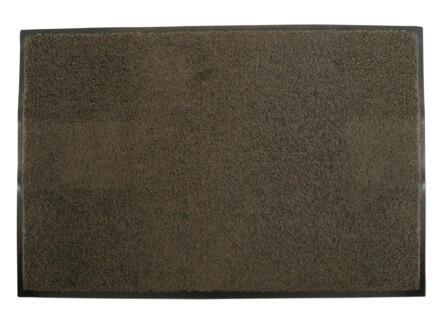 Eco+ paillasson antisalissant 40x60 cm brun