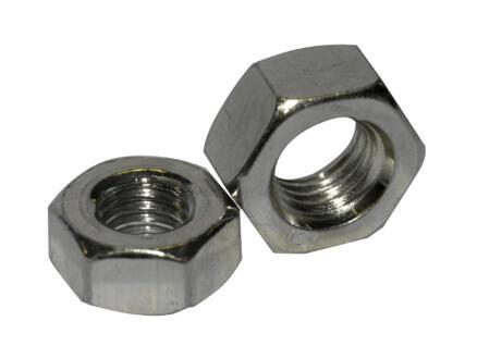 Pgb-fasteners Ecrou à six pans DIN934 M5 inox 200 pièces