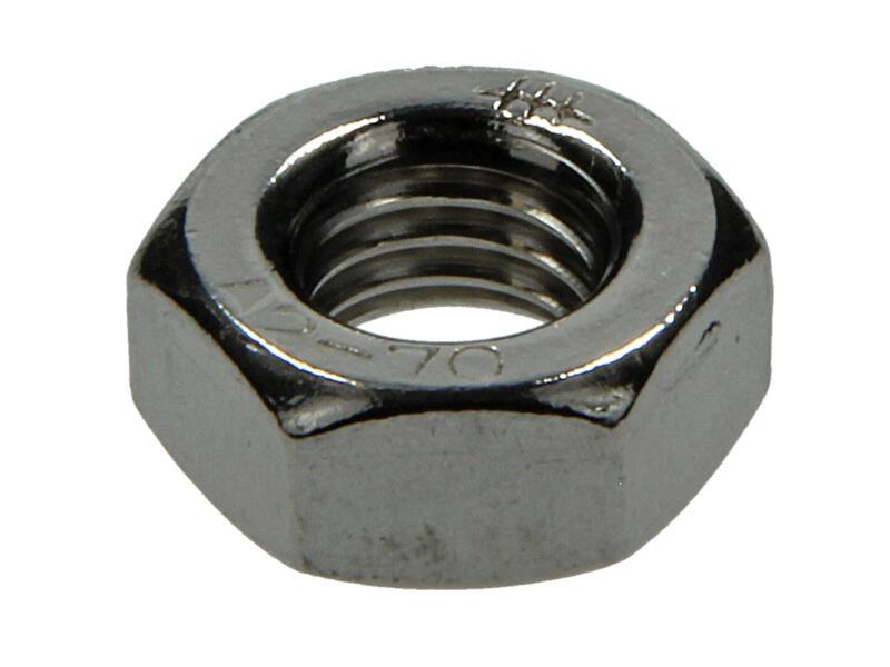 Sam Ecrou hexagonal M10 inox 4 pièces