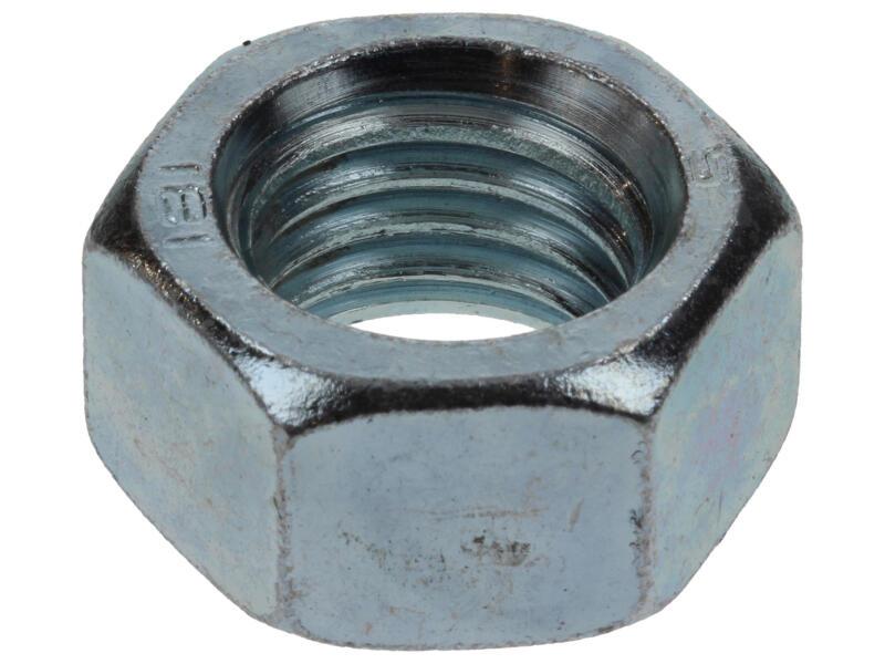 Sam Ecrou hexagonal M18 zingué 2 pièces
