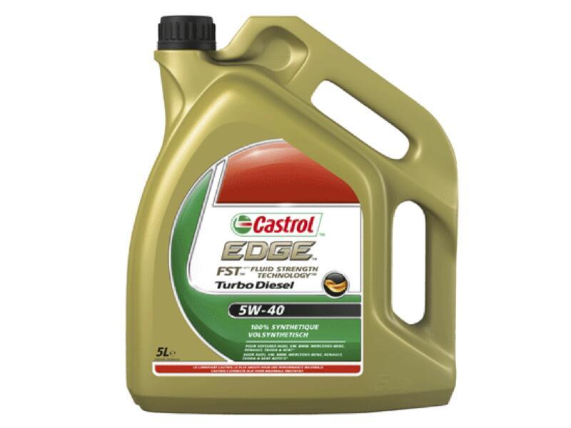 Castrol Edge Turbo Diesel huile moteur 5W-40 5l
