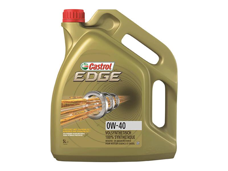 Castrol Edge huile moteur 0W-40 5l