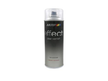 Motip Effect Clear Varnish lakspray hoogglans 0,4l transparant