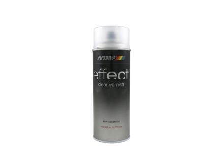 Motip Effect Clear Varnish lakspray zijdeglans 0,4l transparant
