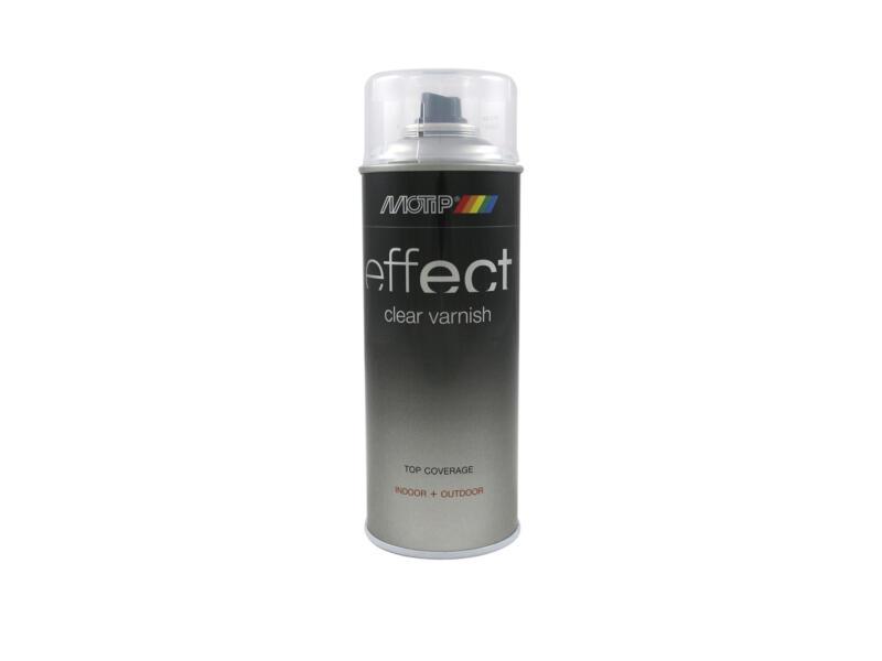 Motip Effect Clear Varnish laque en spray brillant 0,4l transparent
