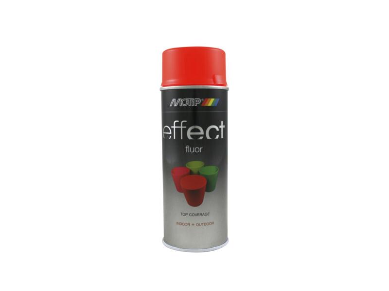 Motip Effect Fluor lakspray 0,4l rood-oranje