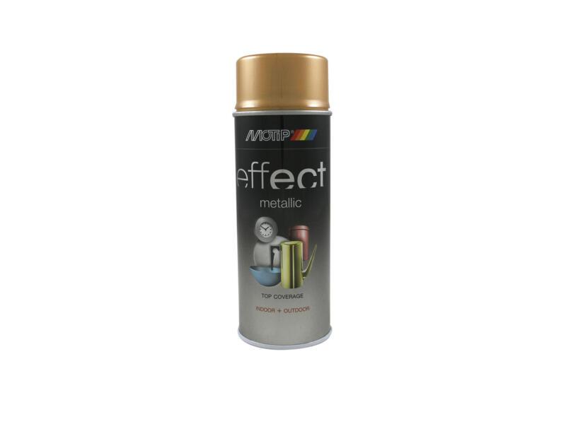 Motip Effect Metallic lakspray 0,4l antiek goud
