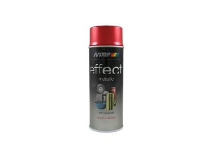Motip Effect Metallic lakspray 0,4l rood