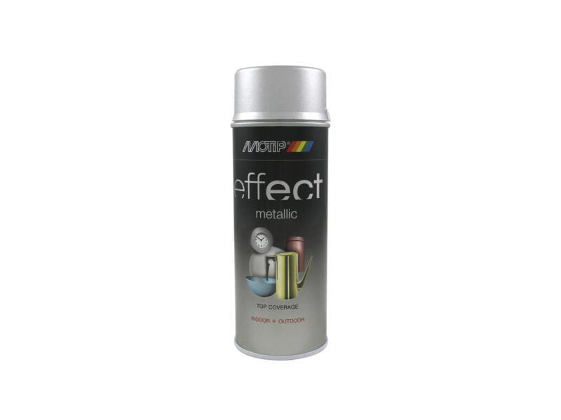 Motip Effect Metallic lakspray 0,4l stralend zilver