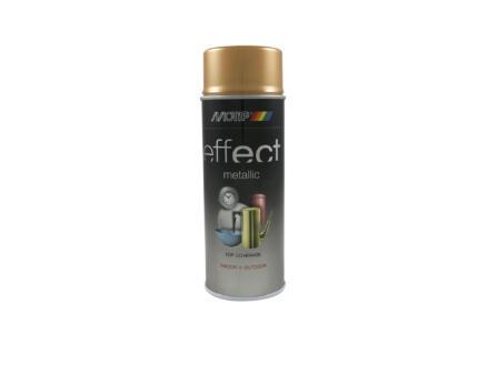 Motip Effect Metallic laque en spray 0,4l or antique