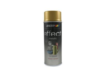 Motip Effect Metallic laque en spray 0,4l or