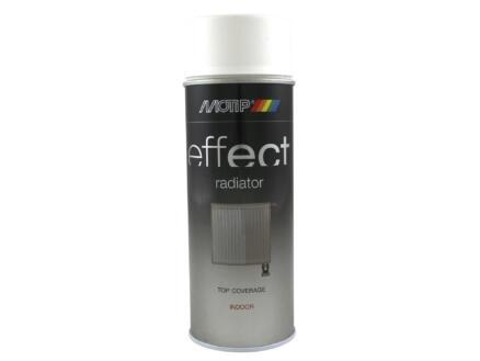 Motip Effect Radiator lakspray mat 0,4l wit