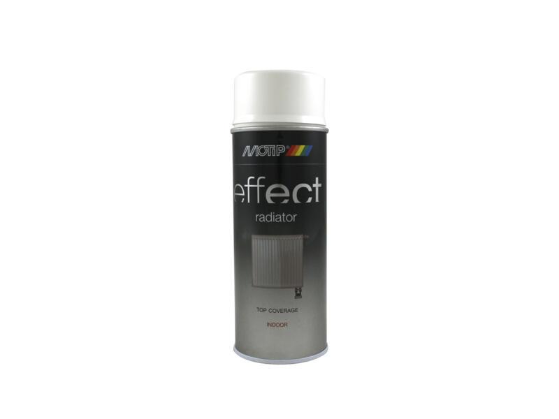 Motip Effect Radiator laque en spray peinture radiateur brillant 0,4l blanc