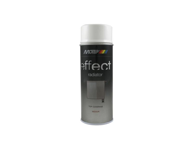 Motip Effect Radiator laque en spray satin 0,4l blanc