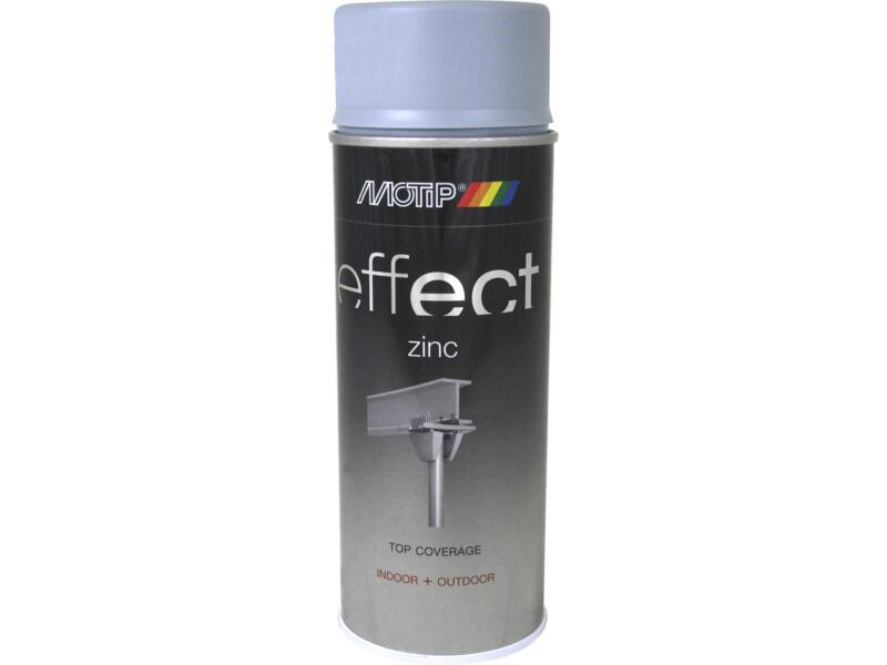 Motip Effect laque en spray galvanisation 0,4l gris