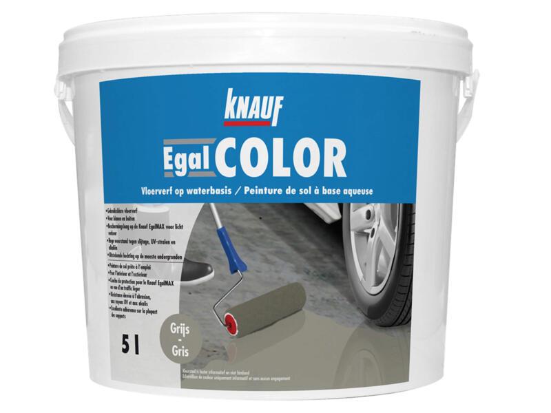 Knauf Egalcolor vloerverf mat 5l grijs