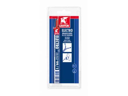Electro draadsoldeer Tin/Koper 99/1 harskern 1,5mm 3m