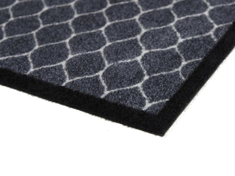Elegance paillasson antisalissures 40x60 cm bleu